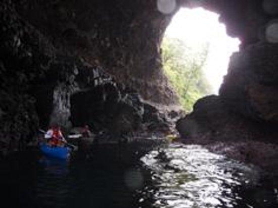 Takeno Coast : こんな洞門を目指します~ホームページ
