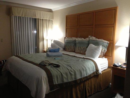 Best Western Silicon Valley Inn : Hotelzimmer