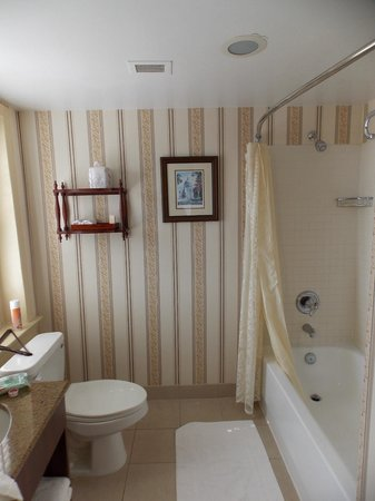 Historic Inns of Annapolis: bathroom with a water view
