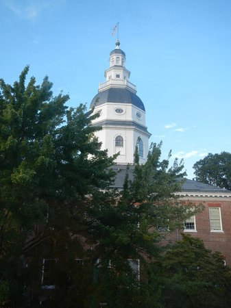 Historic Inns of Annapolis: State House view