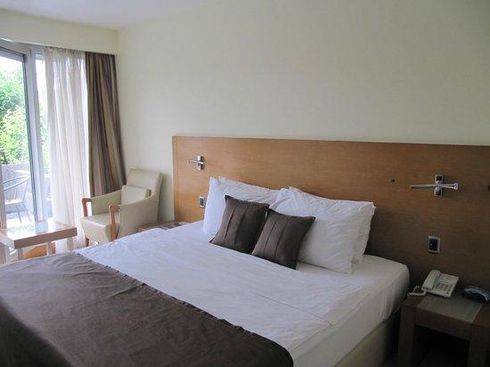 Hotel Podgorica: The screenshots of the room interior