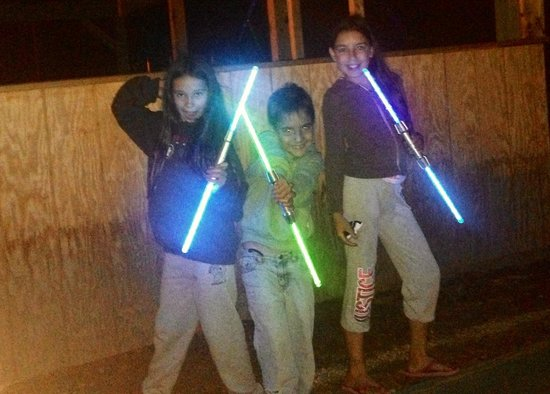 Yogi Bear's Jellystone Park - Ashland: The glow stick parade ( :