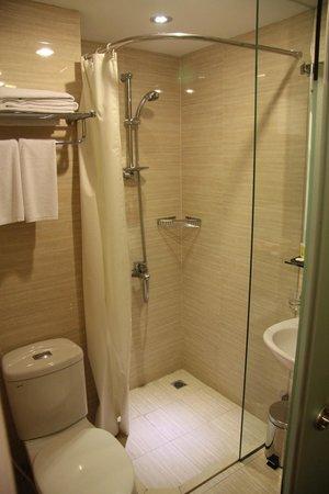Hanoi Romance Hotel: Badezimmer