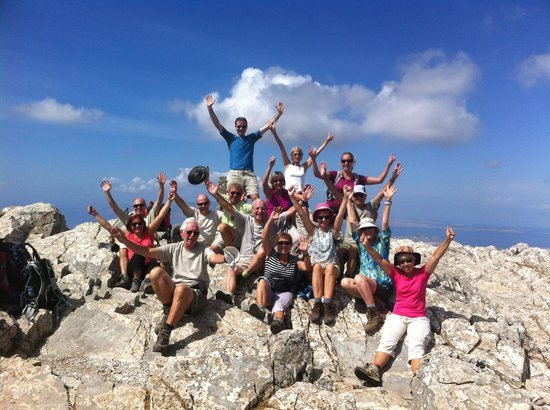 Hotel Galini & Sofia Latina: sommet du mont Zas