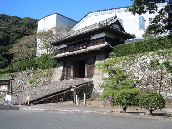 Saiki Castle Sannomaru Yagura Gate: 佐伯城三の丸櫓門