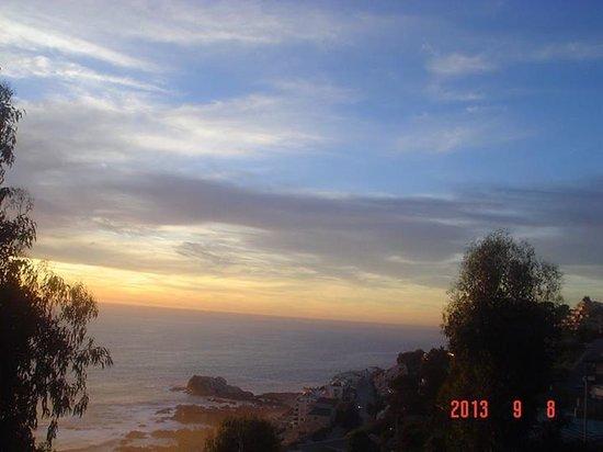 Dei Templi Apart Hotel: Sunset in Renaca
