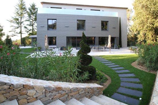 Villa Rampale : Coté Jardin