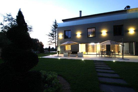 Villa Rampale : Début de soirée