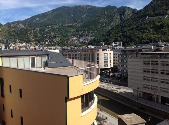 Hesperia Andorra la Vella: view from balcony