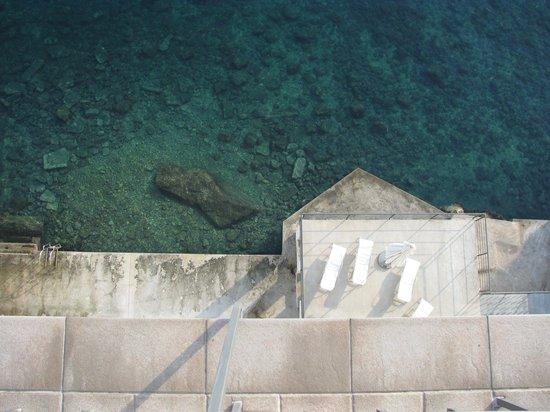 Hotel Jadran: beach2