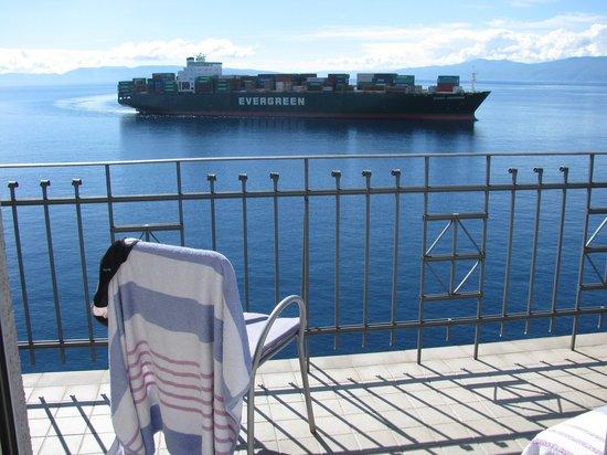 Hotel Jadran: view
