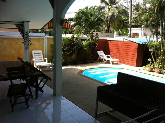 Thalassa Village Resort: Private swimming pool