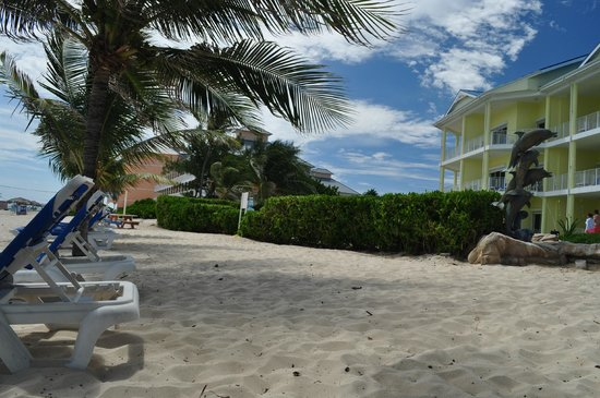 Wyndham Reef Resort : View from the Beach