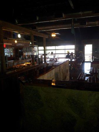 Coach's Bar-B-Que: Interior of Coach's