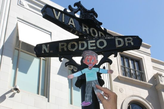 Amazing LA Tours: Flat Stanley shopping on Rodeo!