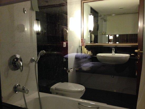 Shangri-La's Eros Hotel: Bathroom