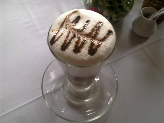 Chocolate Restaurant: Latte