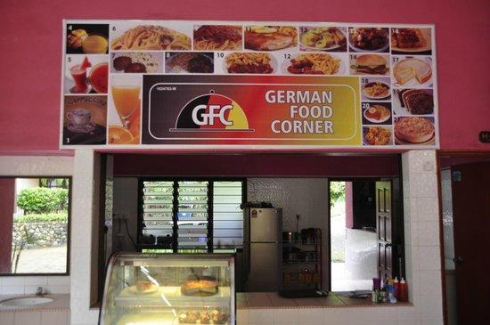 German Food Corner: Logo