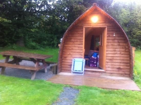 Woodclose Park: wigwam 7