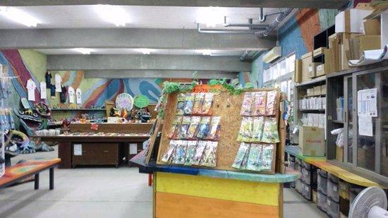 Yonekoyaki Craft Center: 店内