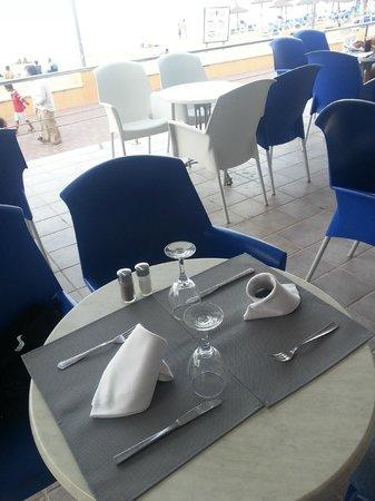 Hotel JS Ca'n Picafort: Gedeck zum Abendbuffet