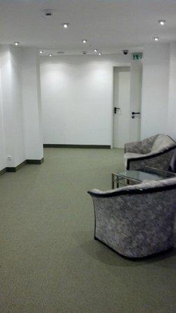 Alpha Hotel Hermann von Salza: Hotelflur am Aufzug
