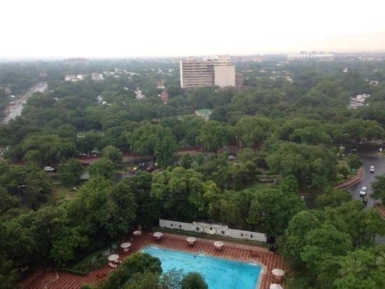 Taj Mahal Hotel: view from the room