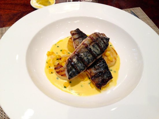 Outlaw's at The Capital : Mackerel fillets (really tasty)