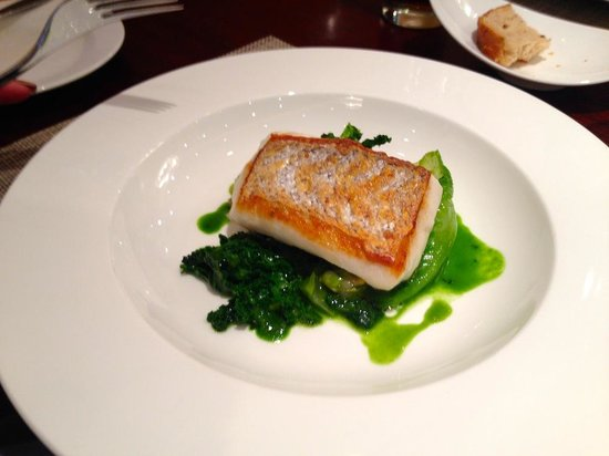 Outlaw's at The Capital : Hake on curly kale