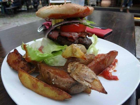 Substanz: Bacon burger