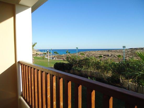 Aktea Beach Village : Вид на море с балкона