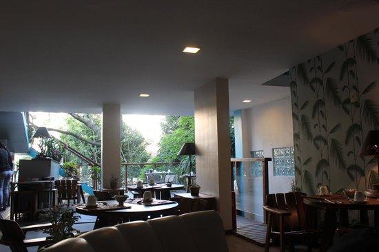 Quinta Azul Boutique Pousada: The Terrace