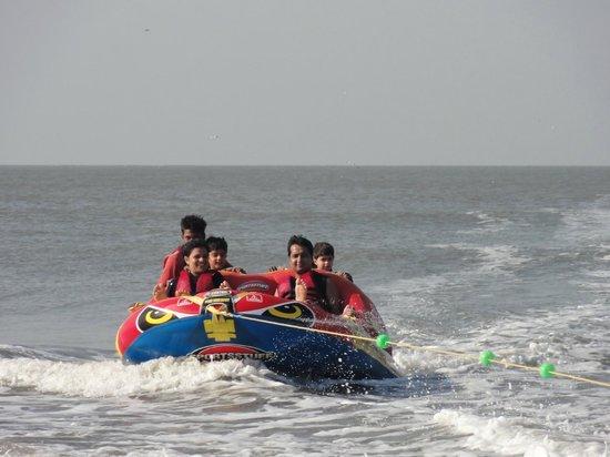 Lotus Beach Resort: water sports even for kids