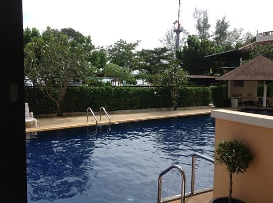 Srisuksant Resort: Blick aus dem Zimmer