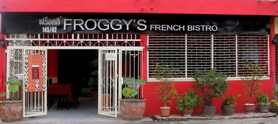 Froggy's French Bistro: the french froggy restaurant