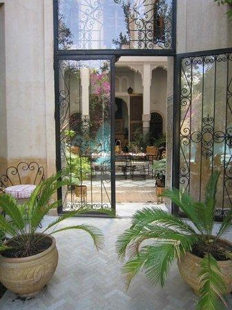 Riad Norma: Espace commun vu du jardin