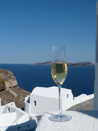 Ambassador Aegean Luxury Hotel & Suites: View from balcony