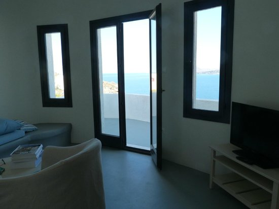 Ambassador Aegean Luxury Hotel & Suites: View from living area
