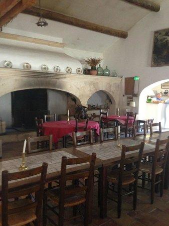 Hotel de Cacharel : Salle à manger