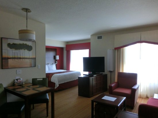 Residence Inn Clearwater Downtown: Schlafbereich