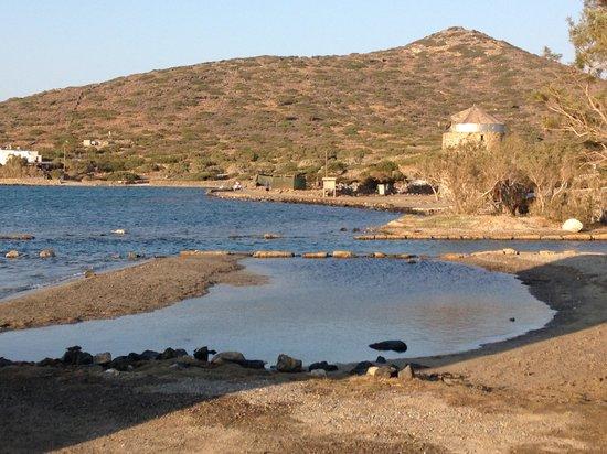 Elounda Island Villas: llegada al hotel