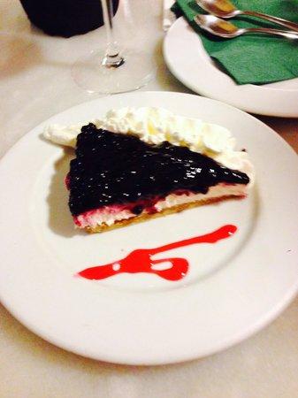 La Ermita Tapas Bar : Tarta de queso con arandanos