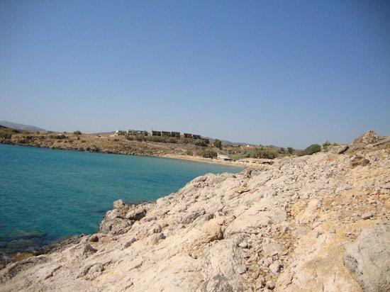 Agathi Beach: La spiaggia