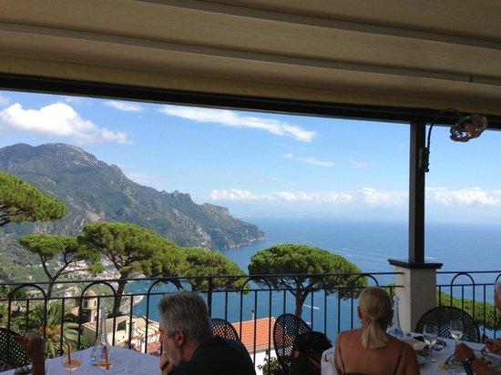 Hotel Rufolo: レストランからの素晴らしい景色