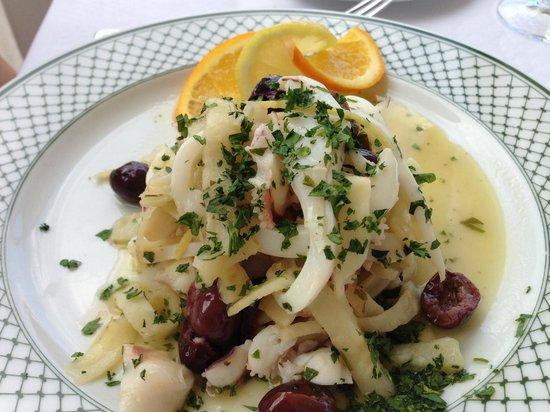 Hotel Rufolo: 前菜も絶品