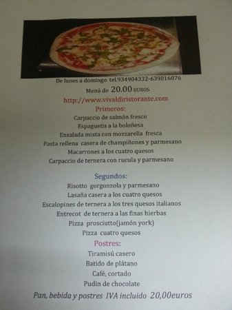 Pesadilla En La Cocina Vivaldi | Vivaldi Barcelona Fotos Numero De Telefono Y Restaurante