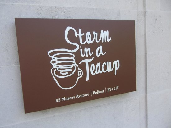 Storm in a Teacup: A sign!