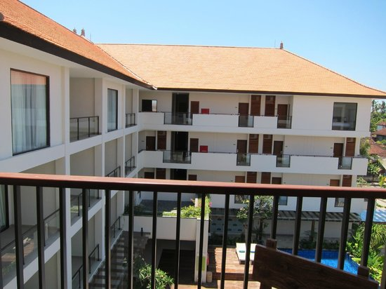 Taksu Sanur Hotel: View from balcony