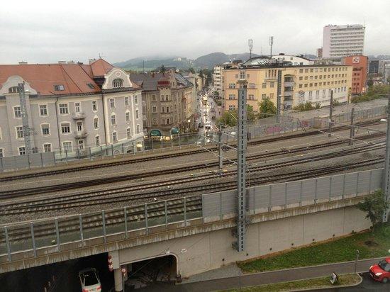 Hotel Imlauer: Blick aus dem (einzigen) Fenster