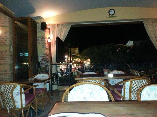 Astra Village Apartments: The main bar area
